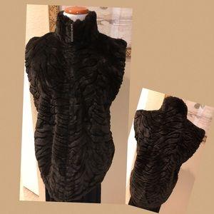 Duffel Outdoor Faux Fur Vest